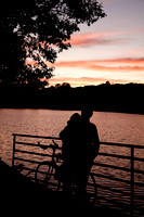 Lovers at Jamaica Pond