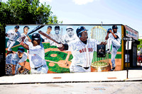 Firth Road Mural at Healy Field